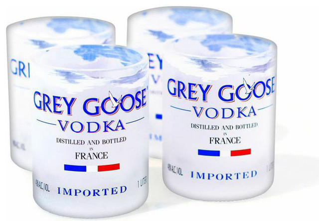 grey goose rocks glasses set of 4