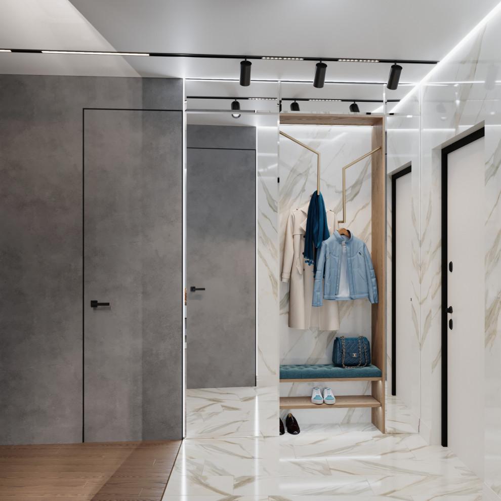 Квартира с итальянским мрамором