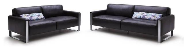 cadenza modern black leather sofa set modern living room furniture sets cadenza furniture