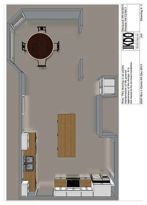 Please help me design my kitchen island for Help me design my garden