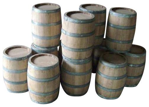 Oak Wood Barrel Keg, 3 Gallon Rustic