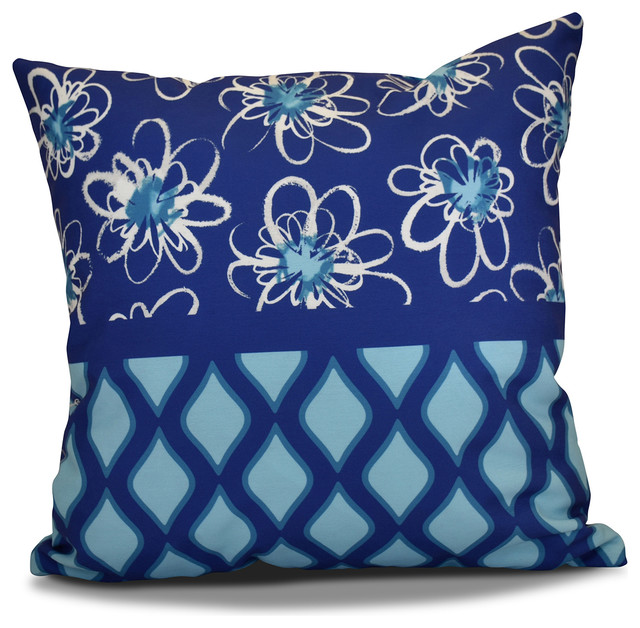 Decorative Outdoor Holiday Pillow - Contemporary - Outdoor Cushions And Pillows - by E by Design