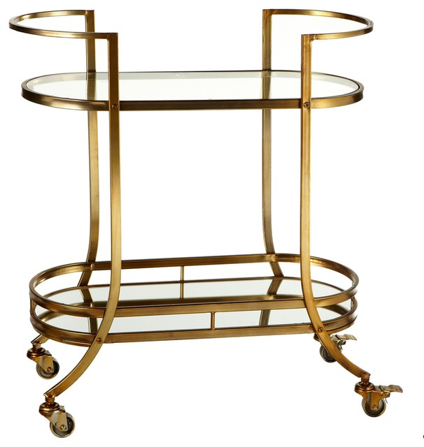 2 Tier Glass Bar Cart Contemporary Bar Carts by  : contemporary bar carts from www.houzz.com size 606 x 640 jpeg 54kB