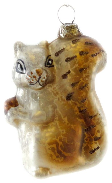 Bethany Lowe Christmas Ornaments.Holiday Ornament Woodland Critter Glass Squirrel Bethany Lowe Lg1691 Squirrel