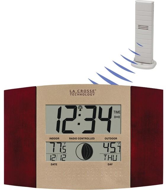 La Crosse Technology - Digital Atomic Wall Clock, Indoor and ...