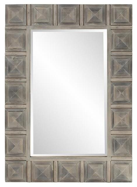 Dakota Wood Mirror.