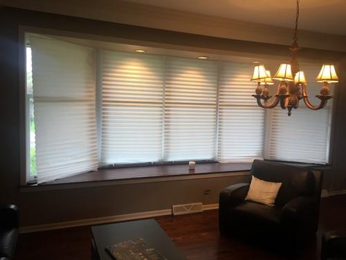 Window shadesblinds for bay window help