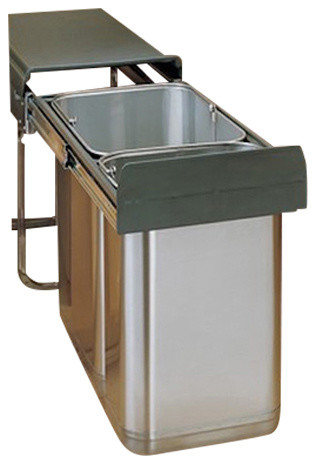 Rev-A-Shelf 8-785-30-2SS Pullout Under-Sink Waste Containers - Contemporary - Pantry And Cabinet ...