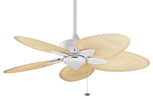 White Ceiling Fan.