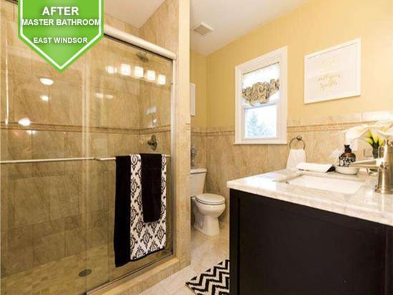 East Windsor After Master Bathroom
