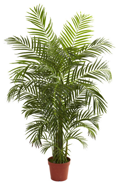 4.5\' Areca Palm UV Resistant, Indoor/Outdoor - Transitional ...