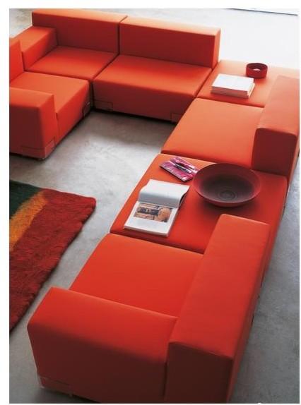 Plastics Duo Sofa 4 by Kartell modern-sofas