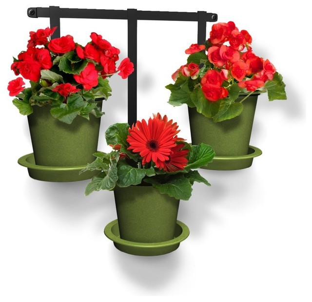 Shop Houzz Gro South Wall Hanging Planter Kit Indoor