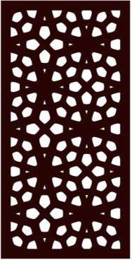 Marakesh Modular Decorative Screen Panels, Set Of 4.