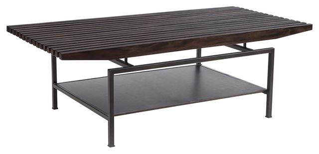 Ink+Ivy Slat Coffee Table