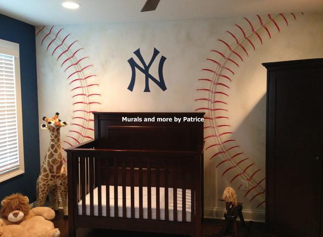 NY Yankees Nursery traditional