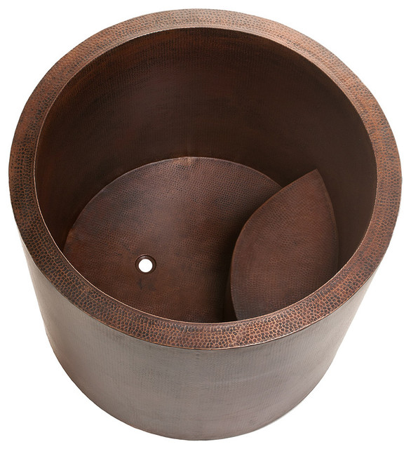 Premier copper products japanese style soaking hand for Japanese tubs for sale