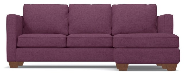 Attrayant Catalina Reversible Chaise Sofa, Amethyst