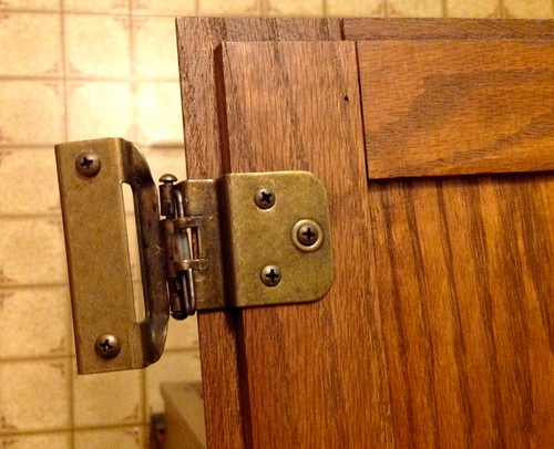 Have You Seen These Kitchen Cabinet Hinges