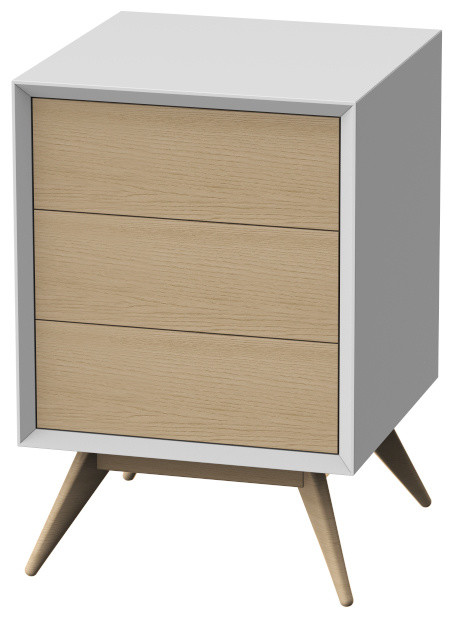 Tall Bedside Tables Artik H55 Tall Bedside Table  Scandinavian  Nightstands And .