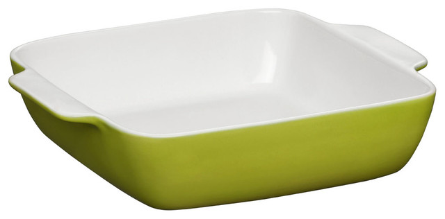 Oven Love Square Baking Dish, Lime Green, Small.
