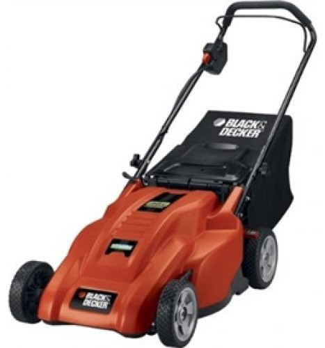 "18"" Cordless Lawn Mower with Integrated 36V Battery"