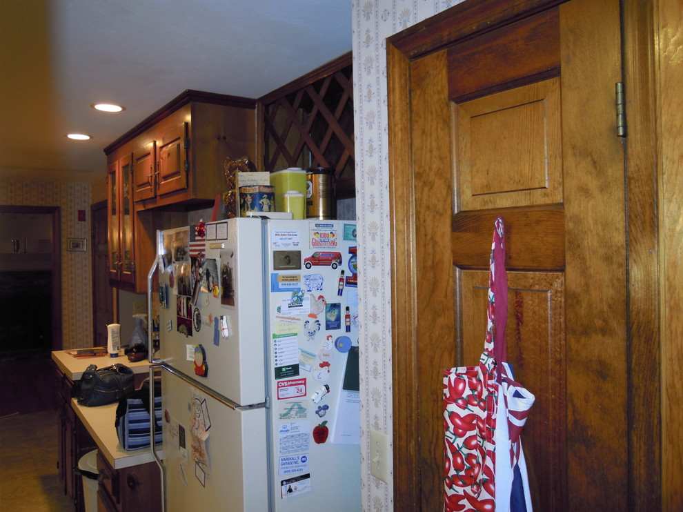 Storage and counter-space improved dramatically.