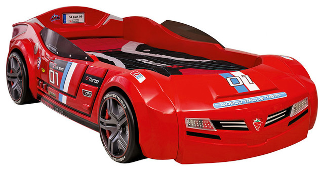 cilek kids room biturbo red twin race car bed twin foam mattress included contemporary