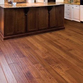 Can handscraped floors be 39 modern 39 Unstained hardwood floors