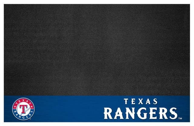 """Mlb Texas Rangers Grill Mat 26""""x42""""."""