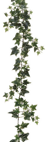 Silk Plants Direct Sage Ivy Garland, Pack Of 6.