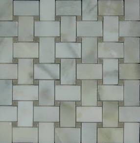 Basketweave Mosaic Tiles