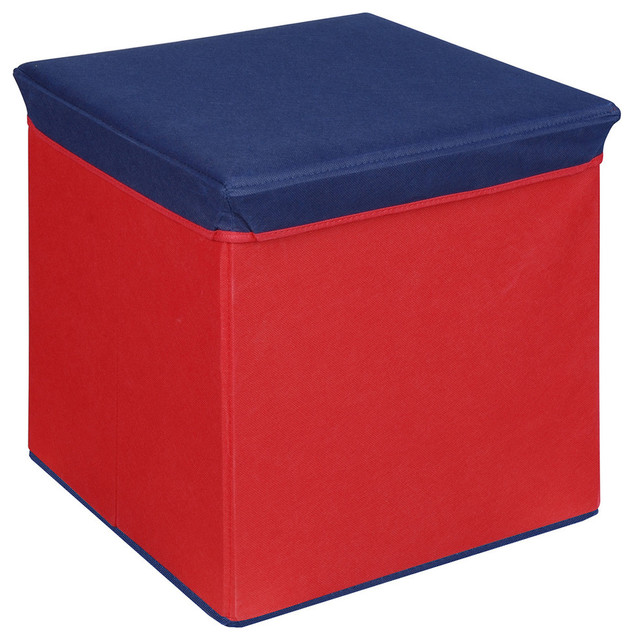 Kids storage ottoman best storage design 2017 for Kids storage ottomans