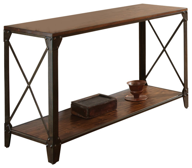 Shop Houzz Steve Silver Company Winston Sofa Table  : traditional console tables from www.houzz.com size 640 x 560 jpeg 62kB