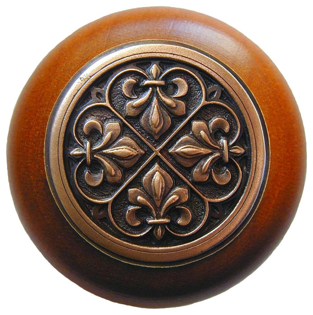 Notting Hill - Notting Hill Fleur-De-Lis Knob - View in Your Room!   Houzz