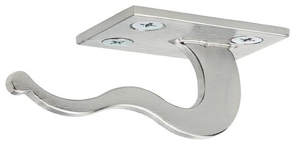 Purse Hook, Satin Stainless Steel.