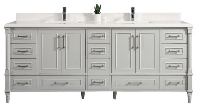 84 X 22 Aberdeen Bathroom Vanity In