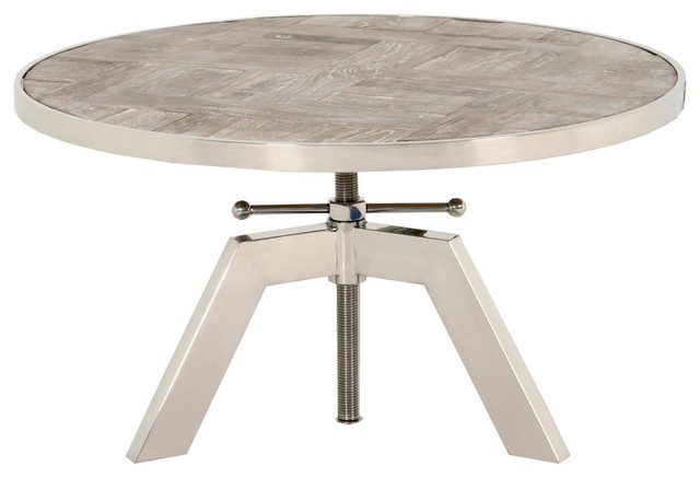 Charlie Round Coffee Table Industrial Coffee Tables By Orient Express Furniture