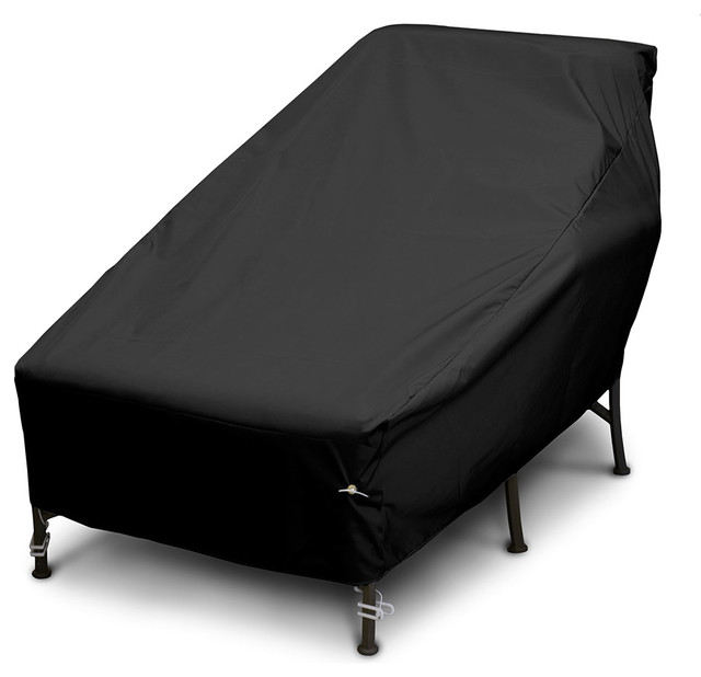 Wide chaise cover contemporary outdoor furniture for Chaise covers outdoor furniture
