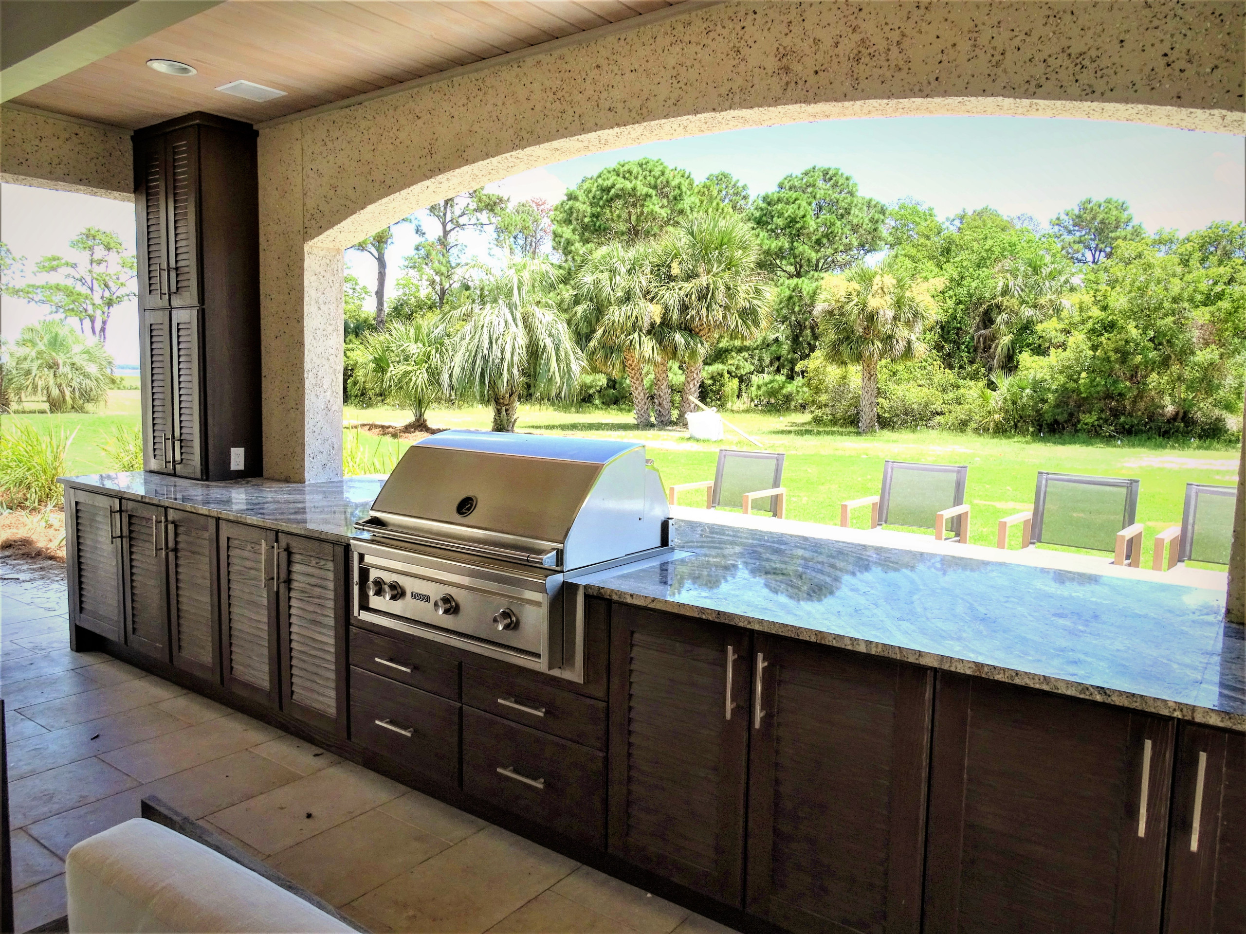 Low Country Outdoor Kitchen