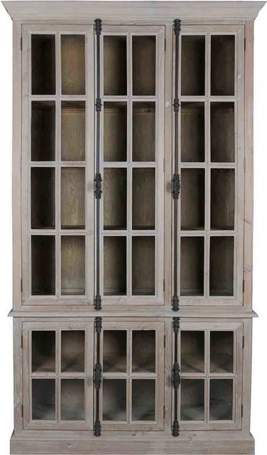 Venetian Shelving Unit, Gray