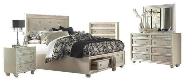 magnussen diamond island bedroom set with storage king contemporary bedroom furniture sets
