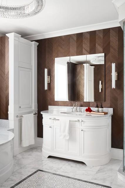 Custom Furniture: ravenswood Residence transitional-bathroom