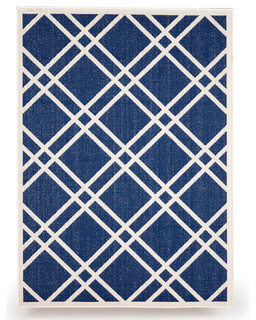 EmpirePatio Maverick Outdoor Patio Rug Traditional Outdoor Rugs By Empi