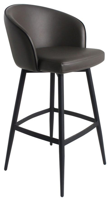 Remarkable Curved Back Counter Stool Ibusinesslaw Wood Chair Design Ideas Ibusinesslaworg