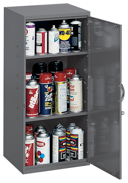 Durham Gray Cold Rolled Steel Utility Cabinet, 2 Shelves ...