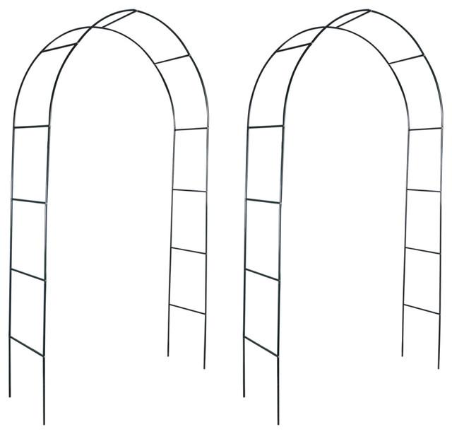 vidaXL Set of 2 Garden Arches for Climbing Plants