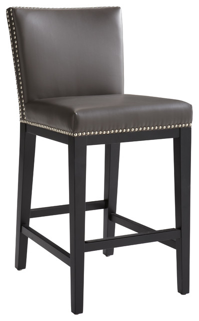 Stockholm Counter Chair, Gray.