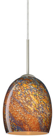 Besa Lighting 1jt-1697ce-Led Lucia 1 Light Led Cord-Hung Mini Pendant.