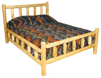Traditional Cedar Bed Frame, King